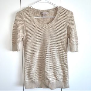 Banana Republic Mid Sleeve Knitted Top